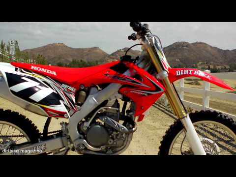 First Ride 2013 Honda CRF250 -- Dirt Bike Magazine