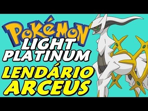 how to get arceus in light platinum