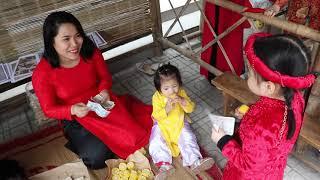 Mầm non Hoa Tuổi Thơ Thái Nguyên - Bé Đi Chợ Tết 2019