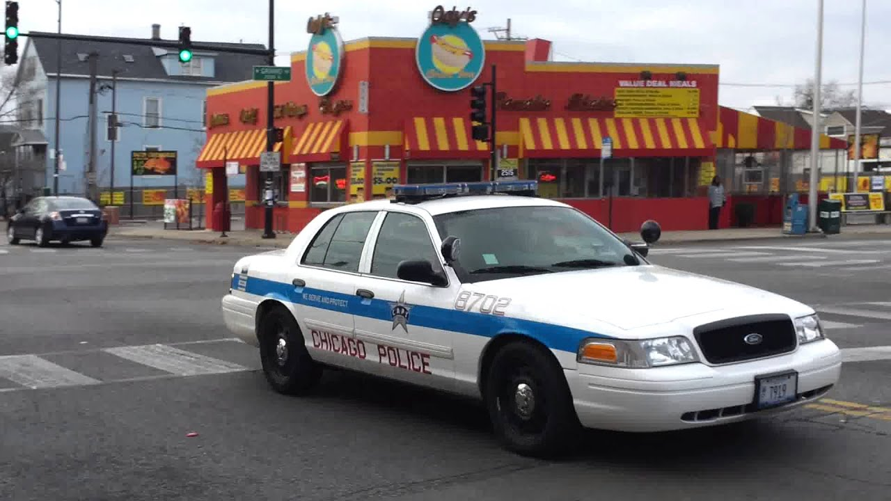 Chicago Police Dept District 025 Ford Crown Victoria P73