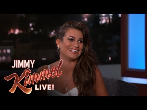 Lea Michele on Vomiting While Singing