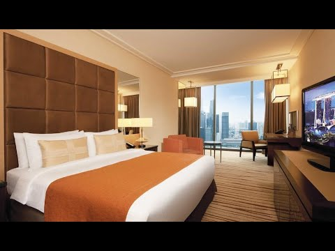 REVIEW ROOM - MARINA BAY SANDS HOTEL SINGAPORE - TOWER 2 ROOM 2754