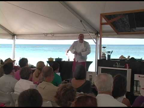 Cayman Cookout 2013: Jose Andres, Flying & Cooking