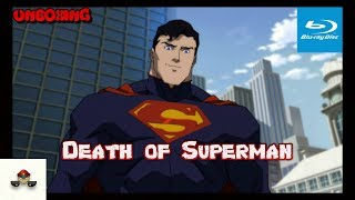 The Death of Superman Limited Edition Gift Set Blu Ray Unboxing