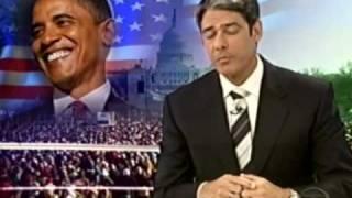 Jornal Nacional: posse do presidente Barack Obama - 20/01/2009