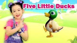 Five Little Ducks - Vịt Con Đến Trường - Cả Nhà Thương Nhau 🌸Liên Khúc Nhạc Thiếu Nhi Bảo Ngọc