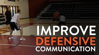 Improve Defensive Communication   Practice Drill   PGC Basketball