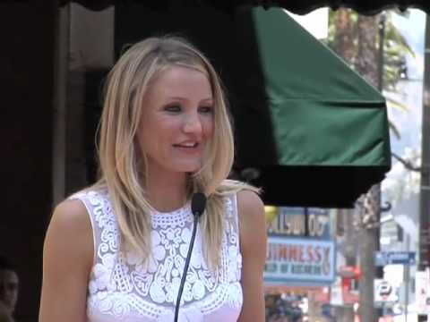 Cameron Diaz Hollywood Walk of Fame Star Ceremony