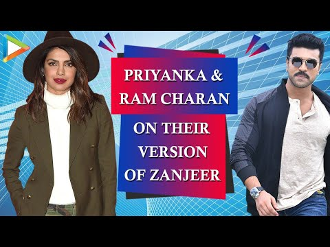 'macho' Ram Charan And 'big B Remake Expert' Priyanka's Fun Interview On 'zanjeer' video