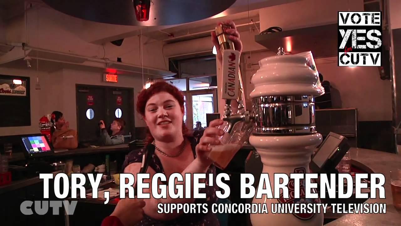 Reggie's says... VOTE YES FOR CUTV