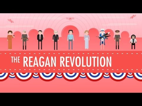The Reagan Revolution: Crash Course US History #43