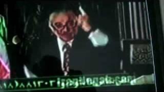 stupid Iranian on TV کس کش لس آنجلسی