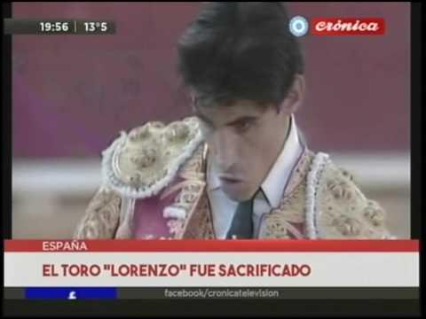 Conmoción por la muerte de torero en España