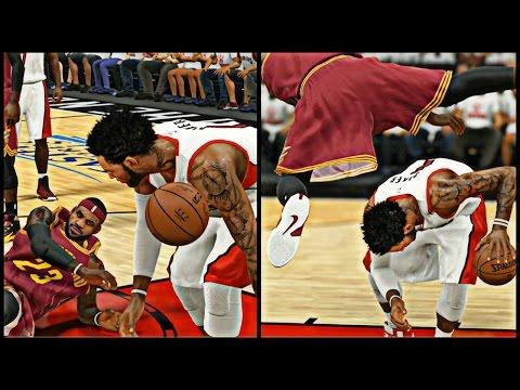 NBA 2K15 MyCAREER Playoffs - CFG4 | LeBron And Cam Playing Tooooo Physical !