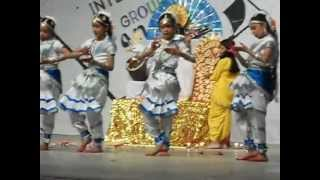maa saraswati sharde dps vijaipur guna interhouse dance compition  28.07.2012