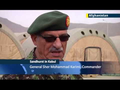 Afghan troops get a brand new military academy in Kabul modeled on Britain's famous Sandhurst