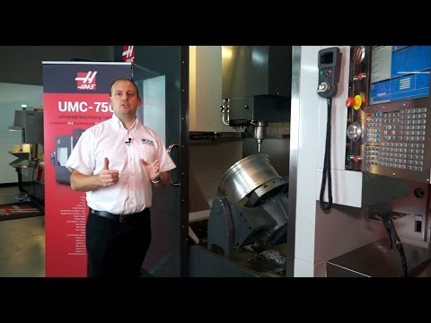 Haas UMC-750 5-Axis Universal Machining Centre - A review by MTDCNC.com