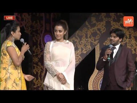 Actress Trisha Extreme Fun with Jabardasth Sudigali Sudheer & Anchor Suma Kanakala at ATC | YOYO TV