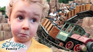 First Time on the Big Kid Rides - Disneyland Special ft. J House Vlogs