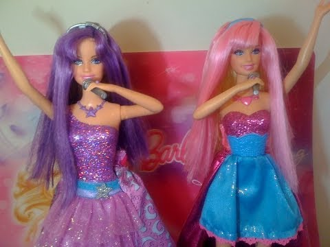 Barbie la Princesa y la Estrella del Pop Muñecas / The Princess and the Popstar Keira and Tori Dolls