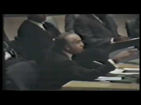 Z.A.Bhutto historic speech in UN security Council