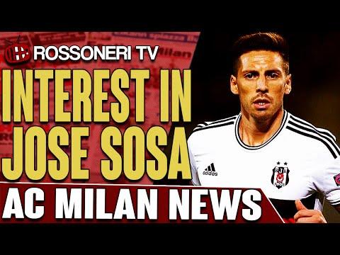 Interest In Jose Sosa | AC Milan News | Rossoneri TV