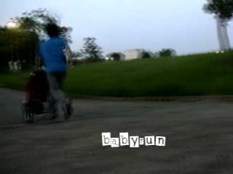 ベビーカーでのジョギング