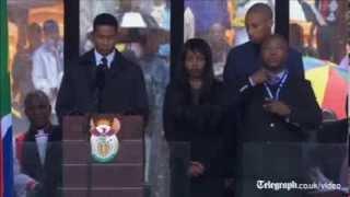 'Fake' interpreter at Nelson Mandela memorial