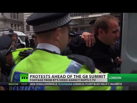 Power to the People: London anti-capitalists rally ahead of G8 summit