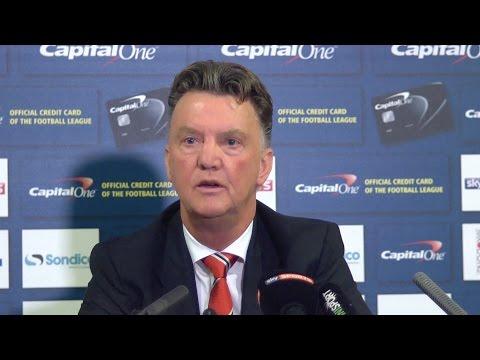Van Gaal - MK Dons Defeat Manchester United