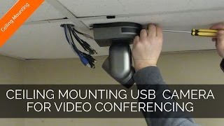 Ceiling Mounting USB Video Conferencing Cameras