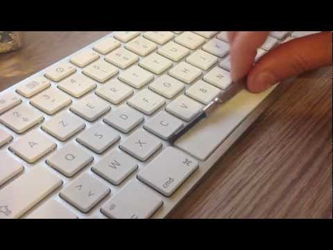 How to fix a broken spacebar on a Mac Keyboard.
