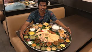 Biggest Thali of South India | Ponnuswamy Hotel | Nungambakkam