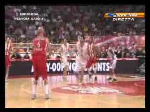 Pero Antic vs Siena (2011-12 Euroleague quarterfinals, game 4)