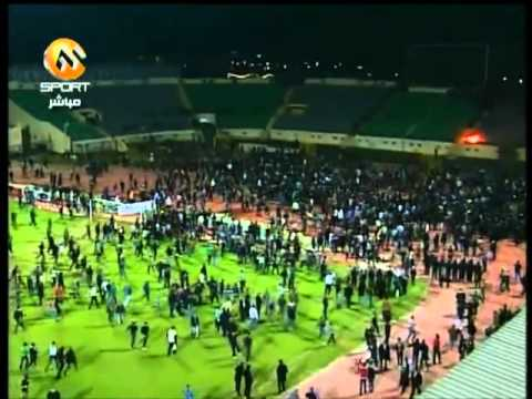 Deadly Clash Between 2 Football Clubs In Egypt.FLV