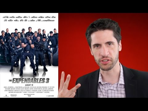 The Expendables 3 Movie Review video