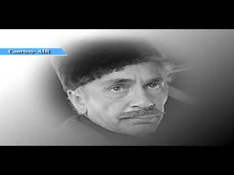 Voice of Balraj Sahni, the famous Hindi film Actor