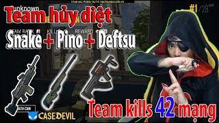 Team săn người, săn thính auto top 1 PUBG l 42 kills