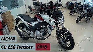 Nova CB 250 Twíster 2019 preço R$ 14.600