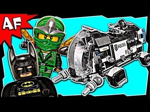 SUPER SECRET POLICE DROPSHIP 70815 Lego Movie Stop Motion Set Review