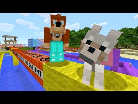 Minecraft Xbox TNT Bridge 262