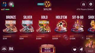 Zynga Poker -  Easy Win -  1 Million Chips
