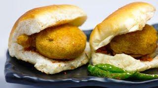 Vada Pav | Mumbai street food | Veg