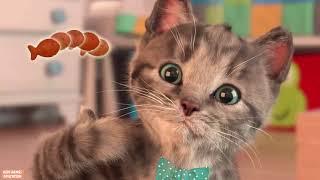 Little Kitten My Favorite Cat Pet Care - Play Fun Cute Kitten Animation Mini Games For Children