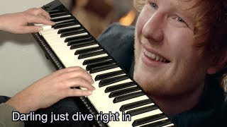 Download Lagu Ed Sheeran - Perfect  |  KARAOKE + Lyrics Gratis STAFABAND