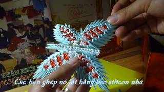 Wind chimes 3D Origami