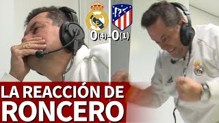 REAL MADRID 0- ATLÉTICO 0 | La reacción de Roncero durante la final de la Supercopa | Diario AS
