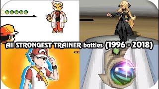 Evolution of Hidden Final Boss Pokémon Battles (1996 - 2017)