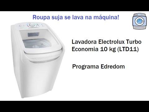 Lavadora Electrolux Turbo Economia 10kg (LTD11) - Programa Edredom