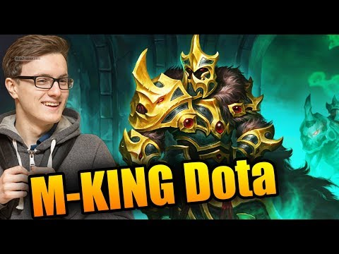 The TRUE KING Of Dota - Miracle- [Wraith King] Dota 2